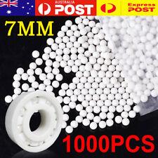 1000x PP Solid Plastic Balls 7mm Diameter Precision Roller Bearing Transmission