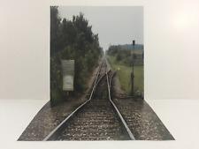 "custom walking dead ikea detolf 12"" & 1/6th scale diorama backdrop"
