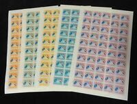 PARAGUAY 1960 UN DAY FLAGS X 50 SETS in MNH Sheets 250 Stamps [PY2]