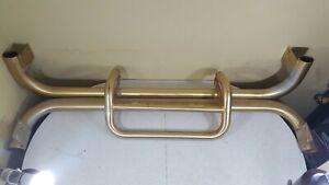 Vintage JEEP Push Bull Nerf-Bars Gold Cherokee SUV Side Step Running Board Bars