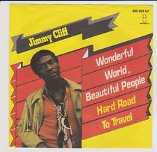 "7"" Cover Jimmy Cliff Wonderful World, Beautiful People (Only Cover)"