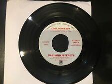 PROMO 45  GARLAND JEFFREYS  COOL DOWN BABY (Stereo Mono) A&M NM