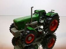 WEISE TOYS DEUTZ D 130 06 TRACTOR - GREEN 1:32 RARE SONDE MODEL - VERY GOOD