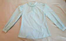 Vintage 1980s Blouse (Oxford Loft Size 6; S) Business Attire - Euc