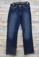 Lucky Brand Jeans 8 x 31 Women's Easy Rider Hipster Boot cut Button fly (J-52)