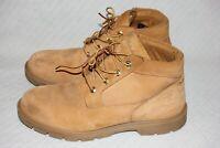 Men's Size 10.5 Timberland Value Waterproof Chukka Wheat Nubuck Boot 22039 A1659