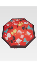 MOSCHINO - PARAPLUIE A CANNE ROUGE (OLIVIA SPRAY) - NEUF AVEC ETIQUETTES