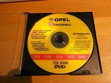 Neu Werkstatthandbuch TIS2000 Opel Vauxhall original Opel Neuteil September 2009