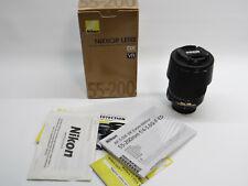 Nikon AF-S DX VR Zoom Nikkor 55-200mm f/4.5~5.6 G IF ED Lens EX