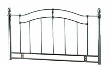 5ft Kingsize Metal Headboard for Bed in Black Nickel (Smoked Chrome)NEW