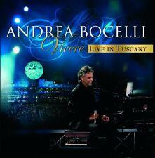 Andrea Bocelli - Vivere - Live In Tuscany (NEW CD)