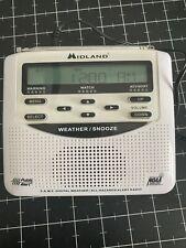 Midland WR-120 S.A.M.E. Digital Weather/ All Hazzards Alert Radio NOAA.