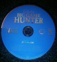 Cabela's Big Game Hunter Nintendo Wii Disc Only TESTED Rare Game Activision
