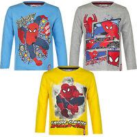 Langarmshirt Pulli Jungen Spiderman Pullover türkis gelb grau 98 104 116 128 #53