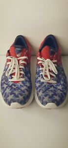 Saucony Kinvara 11 Red White And Blue Shoes Mens Size 9.5 HTF See Pics