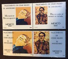 Mexico-Scott 1540, 1541 Mnh