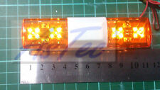 TAMIYA wedico bruder RC voiture etc.. Quad LED Ovale Ambre Clignotant Beacon bar