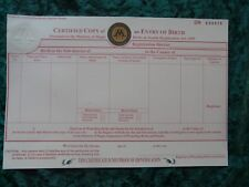 Harry Potter - Birth Certificate - Ministry of Magic