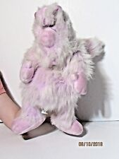 """Vintage 1986 Worlds of Wonder Teddy Ruxpin WOOLY WHAT'S-IT Hand Puppet Plush 18"""""""