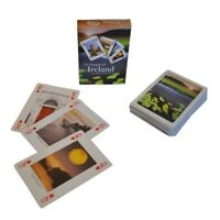 """Images of Ireland Playing Cards Plastic Coated 54 Images/Cards 4 x 2.7"""""""
