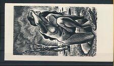 EX43098 EX Libris FRANK-IVO VAN DAMME nude women art fine x2