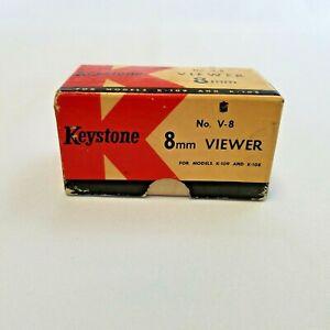 Vintage Keystone 8 MM Viewer No. V-8 C ~ For Models K-109 and K108