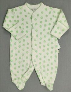 Baby Boy Clothes New Kissy Kissy Preemie To 5Lbs Frog Footed Sleep N Play Outfit