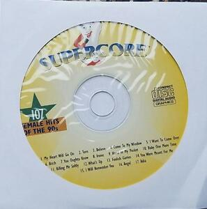 FEMALE HITS OF THE 90'S KARAOKE CDG POP #107 CELINE DION,4 NON BLONDES,CHER