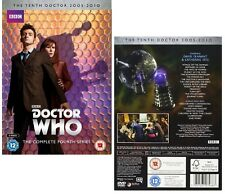DR WHO 2008 Series 4 +2007 CHRISTMAS Doctor David TENNANT + Donna Season Rg2 DVD