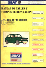 Manual de Taller de Seat 127 (En CD) Workshop Reparation.