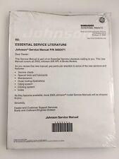 New 2003 BRP Johnson Service Manual ST 6/8 HP 4 Stroke Outboard Motor #5005471