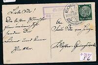 92491) DR > DDR Landpost Ra2 Gröblitz über Rochlitz (Sachsen) Karte 1937