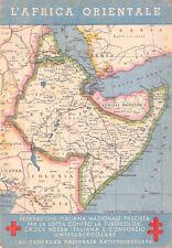 """C5801) CROCE ROSSA, """"L'AFRICA ORIENTALE"""", 6 CAMPAGNA ANTITUBERCOLARE."""