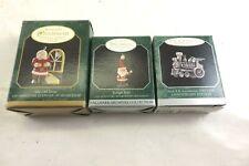 3 Hallmark Miniature Christmas Ornaments 1997 & 1998