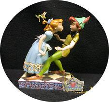 Peter, Wendy & Tinkerbel Wedding Cake Topper Disney Groom top Centerpiece figure