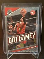 2019 - 2020 Panini Mosaic Trae Young Got Game? Insert Atlanta Hawks Mint
