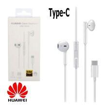 Auricolare Cuffie Stereo Originale Huawei CM33 con USB-Type C Bianco Confezione
