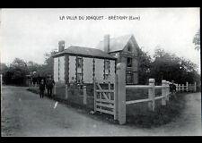 BRETIGNY (27) VILLA du JONQUET animée période début 1900