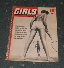 July 1940  issue Girls Magazine Cheese Cake Cover