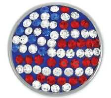 """4, Get 5Th $6.95 Snap Free Ginger Snapsâ""""¢ Usa Flag Jewelry Sn32-31 Buy"""