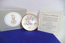 Franklin Mint Mini Plates World'S Greatest Porcelain Houses '82 Royal Doulton Co
