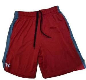 Under Armour Heat Gear Men's Athletic Shorts Gym Basketball Training Large