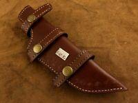 Handmade Leather Sheath for Custom Knife-Knife Sheath-Well Stitched- BGS12