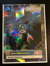 DemiDevimon Digimon Card Animated Series II Super Rare