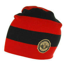 Nike Unisexe Manchester United Bonnet Rouge et Noir Authentique