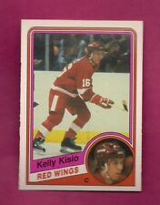1984-85 OPC # 56 RED WINGS KELLY KISIO ROOKIE NRMT-MT CARD (INV# A7289)