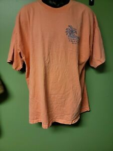 Margaritaville Mens T-Shirt XXL Orange
