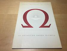 Catálogo Catalogue OMEGA - Torino 2006 Collection - Español - For Collectors