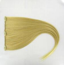 extensions à clips peruk cheveux blond doré méché blond très clair ref: 24bt613