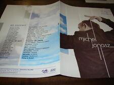 MICHEL JONASZ - RARE BIOGRAPHIE PROMO 2005 !!!!!!!!!!